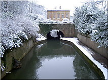 ST7565 : Canal and bridge by Neil Owen