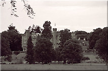 NH7389 : Skibo Castle from lower gardens by Peter Moore