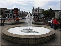 J5081 : Fountain, Bangor by Kenneth  Allen