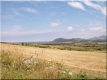 SH3033 : Harvested hayfield at Tyddyn-yr-haint by Eric Jones