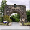 NN9159 : Clunie Arch by Dr Richard Murray
