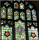 TM2863 : St Michael's church in Framlingham - Cathedral glass window by Evelyn Simak