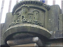 NT2472 : City of Edinburgh emblem, Union Canal by kim traynor