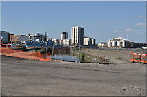 ST1974 : Disused dock in Cardiff Bay by Nicholas Mutton