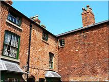 SP0786 : Back yard, Court 15, Inge Street, Birmingham (2) by Brian Robert Marshall