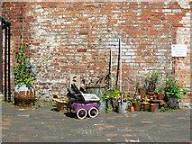 SP0786 : Back yard, Court 15, Inge Street, Birmingham (11) by Brian Robert Marshall