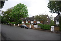 TQ3472 : Terraced houses, Crescent Wood Rd by N Chadwick