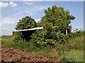 SP2442 : Disused shed near New Farm by David P Howard