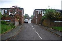 TQ3472 : Canbury Mews, Wells Park Rd by N Chadwick