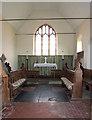 TF8529 : All Saints' church in Tattersett - the chancel by Evelyn Simak