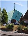 TQ4669 : St Barnabas, Rushet Road, St Paul's Cray, Kent by John Salmon