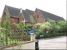 TQ2470 : St John's church, north side by Stephen Craven
