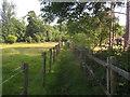 TQ4844 : Footpath towards Park Wood by David Anstiss