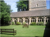 SP5106 : The Cloister, New College, Oxford by Marathon