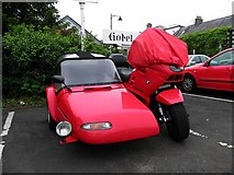 D2817 : BMW motorcycle and side car, Carnlough by Kenneth  Allen