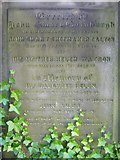 NT2674 : Gravestone inscription, Old Calton Burying Ground by kim traynor