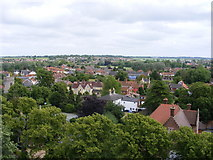 TM3389 : The rooftops of Bungay by Glen Denny
