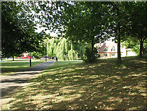 TQ2775 : East end of Wandsworth Common by Stephen Craven