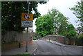TQ3869 : Bridge over the railway, Westgate Rd by N Chadwick