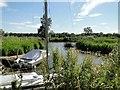TM4691 : River Waveney cut by Adrian S Pye