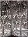 TF6120 : St Nicholas' Chapel in Kings Lynn - south doorway (detail) by Evelyn Simak
