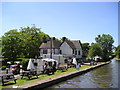 SK0716 : The Plum Pudding Brasserie Pub, Armitage, Rugeley by canalandriversidepubs co uk