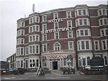 SD4464 : Broadway Hotel , Morecambe by Peter Bond