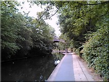 TQ2783 : Bridge on Regent's Canal by Robert Lamb