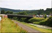 SO5012 : A bridge over the River Monnow by Steve Daniels