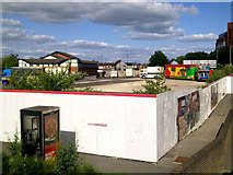 SU1584 : Site of Post Office sorting office, Carfax Close, Swindon by Brian Robert Marshall