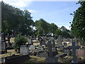 ST1770 : Penarth Cemetery by John Lord