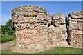 TG4704 : Bastion at Burgh Castle by Ashley Dace