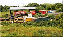 J4681 : Former scrapyard, Helen's Bay (2010) by Albert Bridge