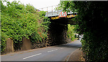 J4681 : Railway bridge, Helen's Bay (1) by Albert Bridge