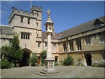 SP5106 : The sundial in Front Quad, Corpus Christi College, Oxford by Marathon
