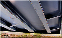J4681 : Railway bridge, Helen's Bay (4) by Albert Bridge
