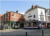 SO4959 : Meeting of the ways, Leominster by Philip Pankhurst