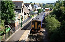 SX4563 : Tamar Valley line Bere Ferrers Station by roger geach