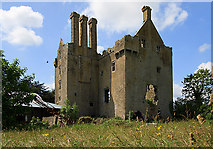 N2925 : Castles of Leinster: Ballycowan, Offaly (1) by Mike Searle