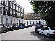 TQ2677 : Paultons Square looking toward Danvers Street Chelsea by PAUL FARMER