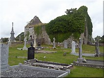 R4278 : Ruined Church, Co Clare by C O'Flanagan