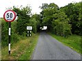 C1131 : Road at Glen by Kenneth  Allen