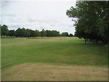 NZ2811 : Eighteenth Fairway Stressholme Golf Course by Chris Heaton