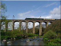 NU2212 : The Aln Viaduct at Lesbury by William Stafford