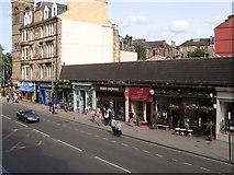 NS5667 : Shops at the north end of Byres Road by David McMumm