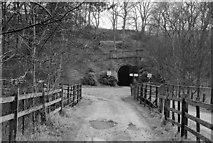 SK0957 : Site of Butterton Halt, Leek & Manifold Valley Light Railway by Ben Brooksbank