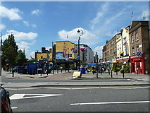 TQ3179 : Looking from Baylis Road towards Lower Marsh by Basher Eyre