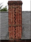 SJ4623 : Interesting chimney on the Red Lion by Ian Paterson
