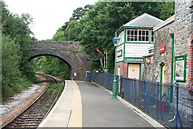 SX4563 : Bere Ferrers: by the signalbox by Martin Bodman