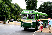 SU7037 : Chawton, Hampshire:  Aldershot & District bus by Dr Neil Clifton